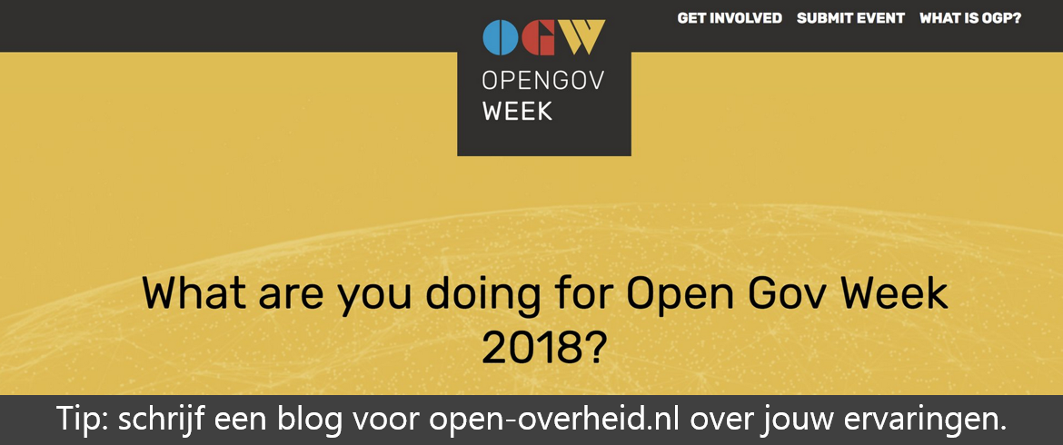 Open Gov Week Blog