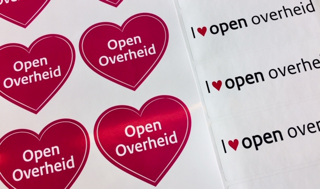 stickers open overheid